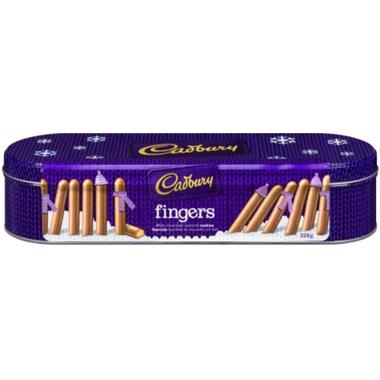 Cadbury Holiday Fingers Tin