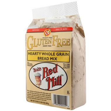 Bob\'s Red Mill Gluten Free Hearty Whole Grain Bread Mix