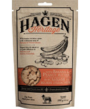 Hagen Heritage Oatmeal Dog Treats Banana & Peanut Butter