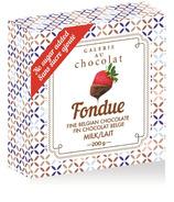 Galerie au Chocolat Fondue Milk Chocolate