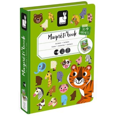 Janod Magnetibook Animals