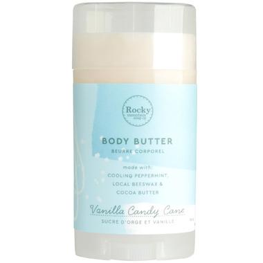 Rocky Mountain Soap Co. Vanilla Candy Cane Body Butter