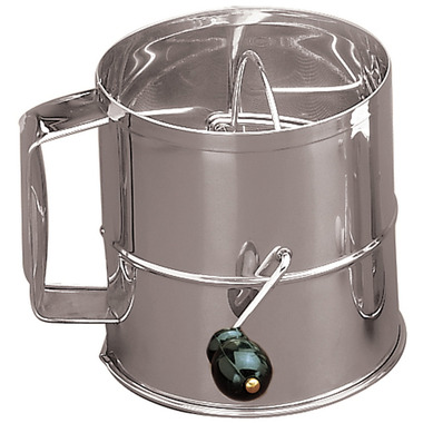 8-Cup Stainless Steel Flour Sifter