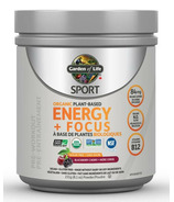 Garden of Life SPORT Organic Plant Based Energy + Focus Sugar Free