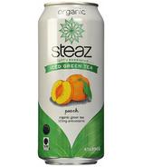 Steaz Organic Lightly Sweetened Iced Green Tea Peach