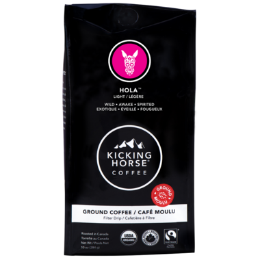 Kicking Horse Coffee Hola Ground Coffee