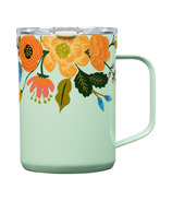 Corkcicle Coffee Mug Rifle Paper Co. Lively Floral Gloss Mint