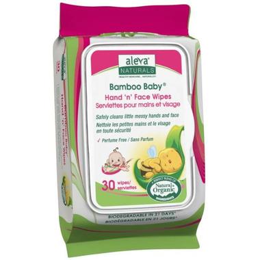 Aleva Naturals Bamboo Baby Hand \'n\' Face Wipes