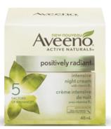 Aveeno Positively Radiant Intensive Night Cream (crème de nuit intensive)