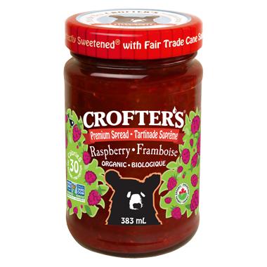 Crofter\'s Organic Raspberry Premium Spread