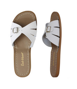 Salt Water Sandals Classic Adult Slide White