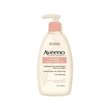 Aveeno Creamy Moisturizing Oil