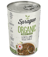 Sprague Organic Lentil Soup with Vegetables