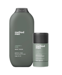 method Men Juniper + Sage Aluminum Free Deodorant and Body Wash Bundle