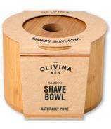 Olivina Men Bamboo Shave Bowl