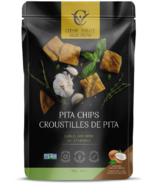 Cedar Valley Selections Pita Chips Garlic and Herbs