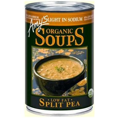 Amy\'s Organic Split Pea Soup Reduced Sodium