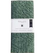 Ten and Co. Solid Sponge Cloth Set Evergreen