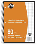 Hilroy Metric Graph Paper Notebook