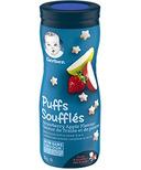 Gerber Graduates Toddler Snack Puffs Strawberry Apple