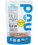Nud Fud Carrot Flax Crackers
