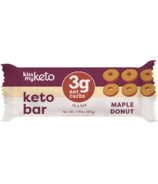 Kiss My Keto Keto Protein Bar Maple Donut
