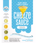 Plantworthy Food Cheeze Sauce Variety Pack
