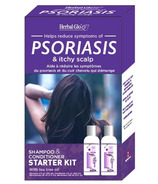 Herbal Glo Psoriasis Shampoo & Conditioner Starter Kit