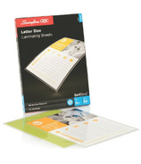 Swingline GBC Letter Size SelfSeal Cold Laminating Sheets