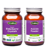 Flora Elderberry Immune Support Bundle