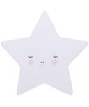 A Little Lovely Company Little Light Star White