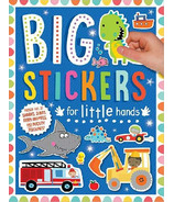Make Believe Ideas Big Stickers For Little Hands Blue
