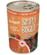Bisque de Sprague Simply avec tomates, poivrons rouges & Soupe Crèmeuse