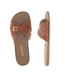 Salt Water Sandals Classic Adult Slide Tan