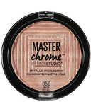 Maybelline Facestudio Master Chrome Metallic Highlighter Molten Rose Gold