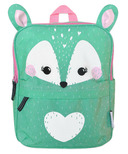 ZOOCCHINI Toddler/Kids Everyday Square Backpack Fiona the Fawn