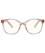 The Book Club Le Specs Blue Light Glasses Spittle Swimmin Floss Pink