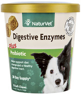 Naturvet Digestive Enzymes Plus Probiotic Soft Chews