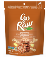 Go Raw Ginger Snap Sprouted Cookie
