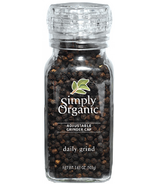 Simply Organic Daily Grind Black Peppercorns