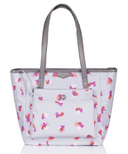 TWELVElittle Everyday Tote Plus Grey Floral