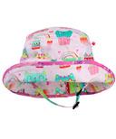 Snug As A Bug Kitty Cactus Adjustable Sun Hat