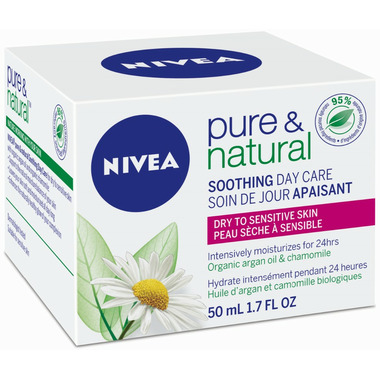 Nivea Pure & Natural Soothing Day Care