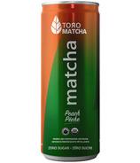 ToroMatcha Sparkling Peach