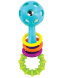 Sassy Baby Peek-a-Boo Beads Rattle