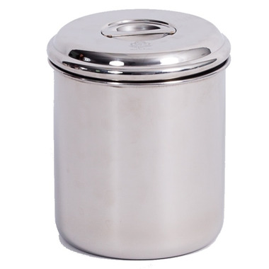Onyx 1 Quart Stainless Steel Canister