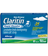 Claritin Non-Drowsy Allergy Rapid Dissolve Small Pack