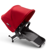 Bugaboo Donkey3 Duo Extension Set Aluminum, Grey Melange & Red