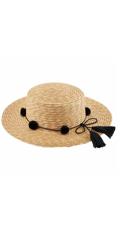 4977ae98c8f3f6 Buy Mud Pie Hilton Pom Pom Sun Hat from Canada at Well.ca - Free Shipping