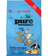 Grandma Lucy's Pureformance Fish Freeze-Dried Grain-Free Dog Food